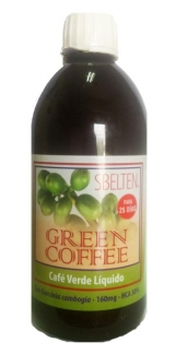 SBELTEN CAFE VERDE (GREEN COFFEE) LIQUIDO 500ML
