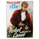 CUADRO PÓSTER DE CINE JAMES DEAN REBEL WITHOUT A CAUSE 50 X 70